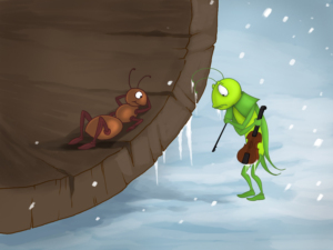 photo about The Ant and the Grasshopper Story Printable titled The Ant And The Grhopper - Young children Tale as a result of Stories with GiGi