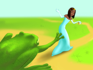 Princess and the Frog - Children Story by Tales with GiGi